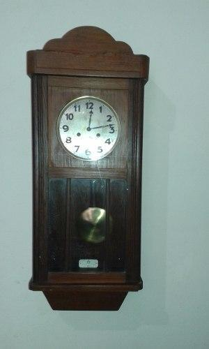Antiguo Reloj De Pared Aleman