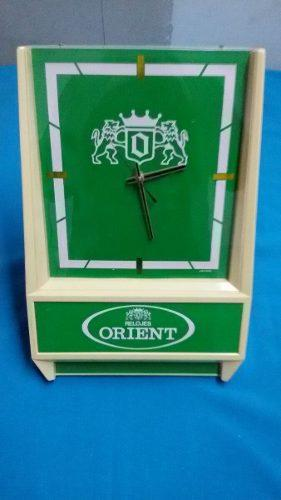 Antiguo Reloj De Pared Orient Japón