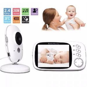 Baby Call Camara Monitor Vigilancia Niño Bebe Audio Lcd 3.2