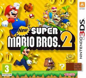 New Super Mario Bros.2 Nintendo 3ds Fisico Sellado Megasoft