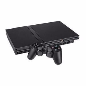 Playstation 2 Slim Chipeada Con 1 Joystick