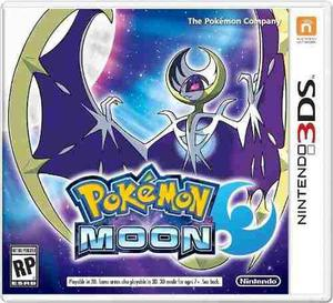 Pokemon Moon Nintendo 3ds Nuevo Fisico Sellado