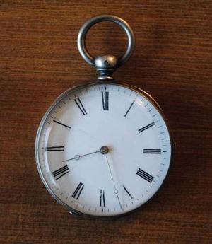 Reloj De Bolsillo Antiguo, Francia