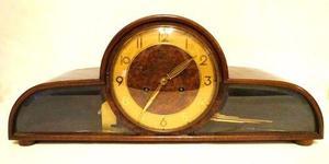 Reloj De Mesa Antiguo Art 721