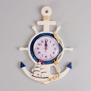 Reloj nautico forma de timon posot class - Reloj para salon ...