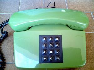 Telefono Fijo Siemens A Botonera Funcionando Ficha Moderna