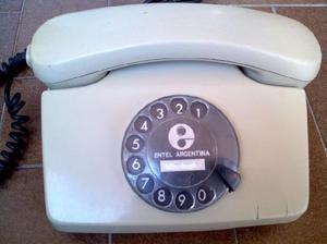 Telefono Fijo Siemens A Disco Funcionando Ficha Moderna
