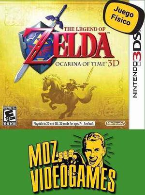 The Legend Of Zelda Ocarina Of Time - Nintendo 3ds - Mdz Vid