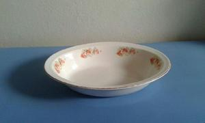 vajilla antigua..fuente en porcelana inglesa sello Johnson