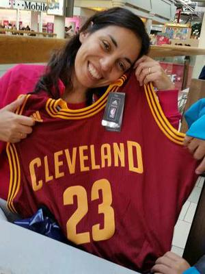 Camiseta De Basquet De Cleveland Original De Eeuu Talle Xxl