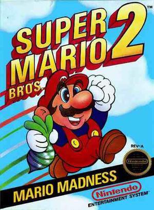 Juego Super Mario Bros 2 Original Nintendo Nes Palermo