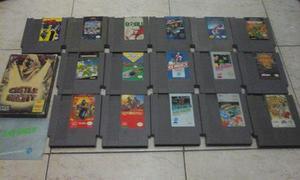 Lote Nintendo Nes - Mega Man, Kid Icarus, Tortugas Ninja