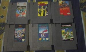 Lote Nintendo Nes - Mega Man, Tortugas Ninja, Karate Champ