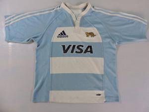 Camiseta De Rugby De Los Pumas Adidas Original Talle M!