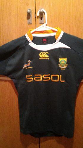 Camiseta sudafrica canterbury rugby oficial adulto original 1d481500c6c0d