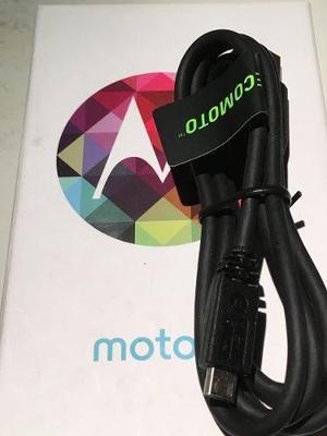 Cable De Datos Motorola Micro Usb 100 % Original Moto G E X