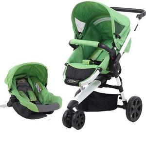 Coche Travel System Glee A08ts Asiento Desmontable Bb Feliz