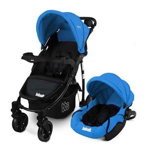 Cochecito Paseo Bebes Color Azul Con Huevito Bebesit 1335ts