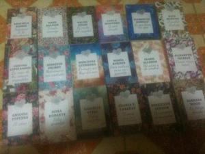 Coleccion Incompleta De Novelas De Amor Y Pasion