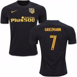 Camiseta Atletico Madrid 7 Griezman Suplente 2016/17 Ho