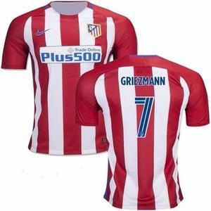 Camiseta Atletico Madrid Titular 7 Griezman 2016/2017 Ho