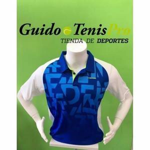 Chombas Remeras Head Ari Azul Tenis Hombre Guido Tenispro