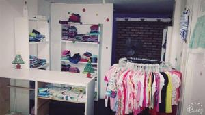 Fondo de comercio ropa infantil