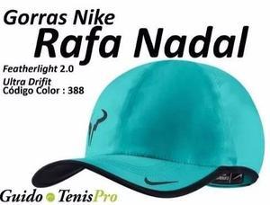 Gorra tenis nike rafa nadal featherlight guido tenispro 05f759e0e61