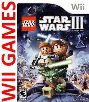 Juego Lego Star Wars 3 The Clone Wars Original Nuevo Sellado