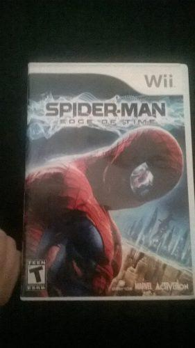 Juego Wii. Spiderman The Edge Of Time.