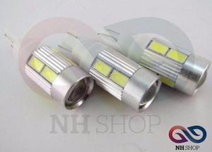 Led Posicion T10 Lupa 12v 10 Chip Altobrillo Blanco Nhshop
