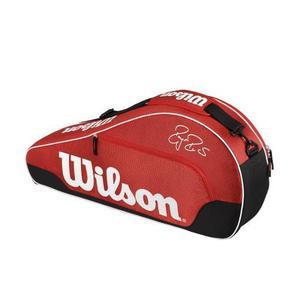 Raquetero Wilson Tenis Federer Team Iii Triple