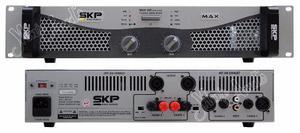Skp Max 420 Potencia 200 +200 Watts 4/8 Ohms Audio Rem