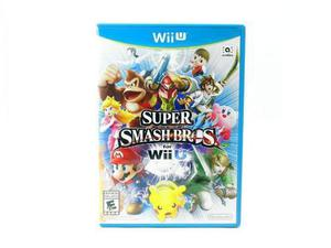 Super Smash Bros. For Wii U Juego Nintendo Wii U Gtia Vdgmrs