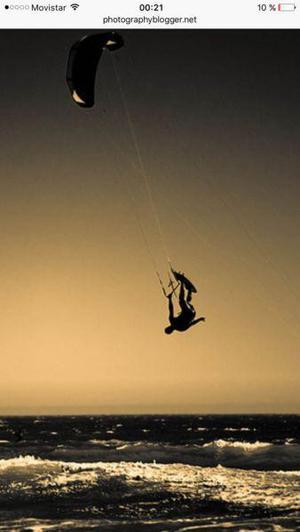 Clases de kitesurf con alojamiento incluido