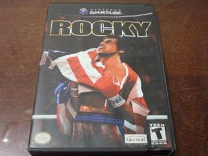 Rocky Original Para Gamecube Con Caja Y Manuales