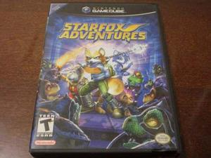 Star Fox Adventures Para Gamecube Con Caja Y Manuales