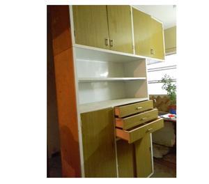 Alacena y bajo mesada de cocina posot class for Muebles bajos para cocina