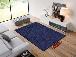 Carpeta Alfombra Boucle Azul 150 X 200 Cm Fundasoul