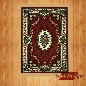 Carpeta Alfombra Layla Roja 60 X 100 Cm Persa Fundasoul