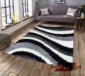 Carpeta Alfombra Shaggy Fair 200 X 300 Cm Moderna Fundasoul