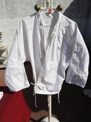 Kimono De Karate Olan. Talle 40 Con 2 Cinturones- Usado