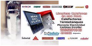 Service, calefon, Mar del plata, 2235201943