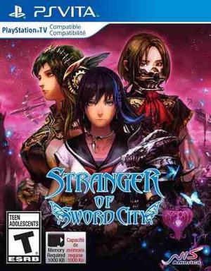 Stranger Of Sword City Nuevo Ps Vita Dakmor Canje/venta