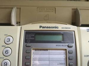 Teléfono Fax Panasonic Cómo Nuevo!!