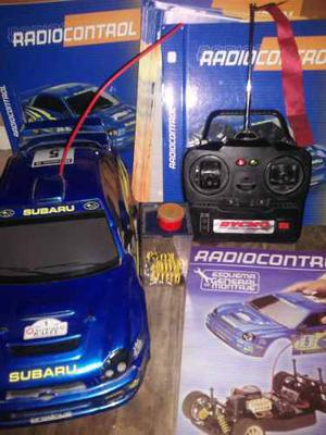 Auto Radiocontrol Escala 1/10 Subarú Impreza Impecable
