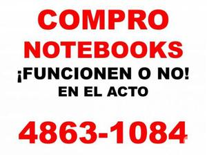 COMPRO EN EL ACTO NET NOTEBOOKS Y MACBOOKS ¡¡ FUNCIONEN O
