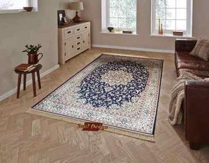 Carpeta Alfombra Isphahan Azul 160 X 230 Cm Persa Fundasoul