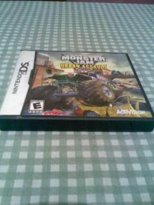 Juego Nintendo Ds Monster Jam Urban Assault