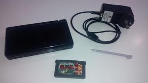 Nintendo Ds Lite Negra Cargador 220v